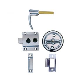 Latch Flush Cup Rev Bevel Flush Strike