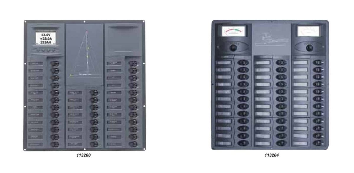 BEP 'Contour Cruiser' Circuit Breaker Panels
