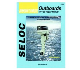 Seloc Manual - Johnson/Evinrude Outboards, 1-2 cyl.