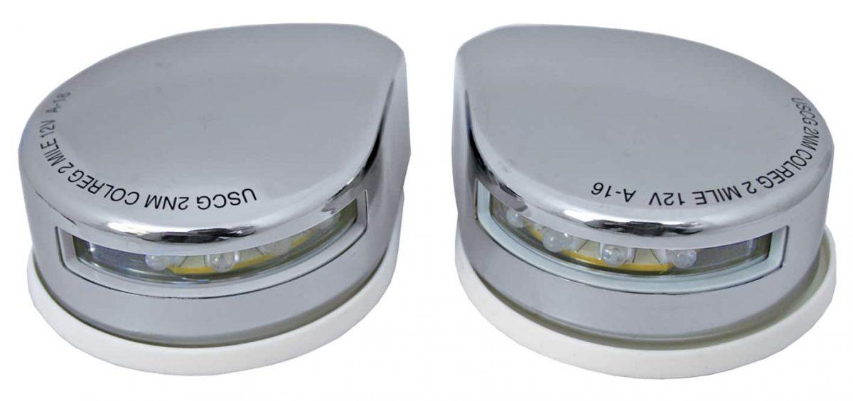 Stainless Steel Navigation Lights