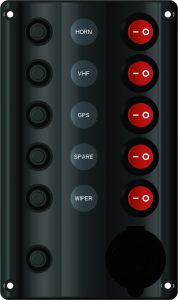 Switch Panel 5 switches
