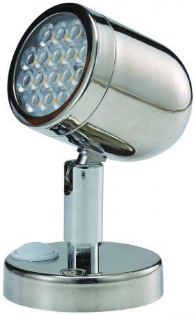 Stainless Steel Bunk Light 12 Volt