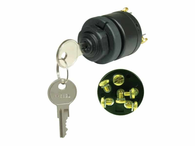 Sierra OMC/BRP Ignition Switch - With Choke