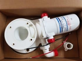 New TMC Macerator Pumping Unit & Base Unit Complete SP192 12 Volt  15420C-12
