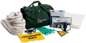 3M Oil & Petroleum Sorbent Spill Kit Cabin Bag - 25 Litre AT010575002
