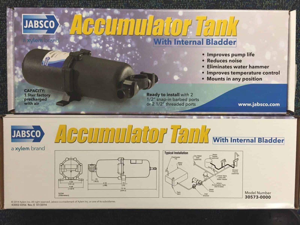JABSCO Accumulator Tank 1 ltr  30573-0000 J21-101 2