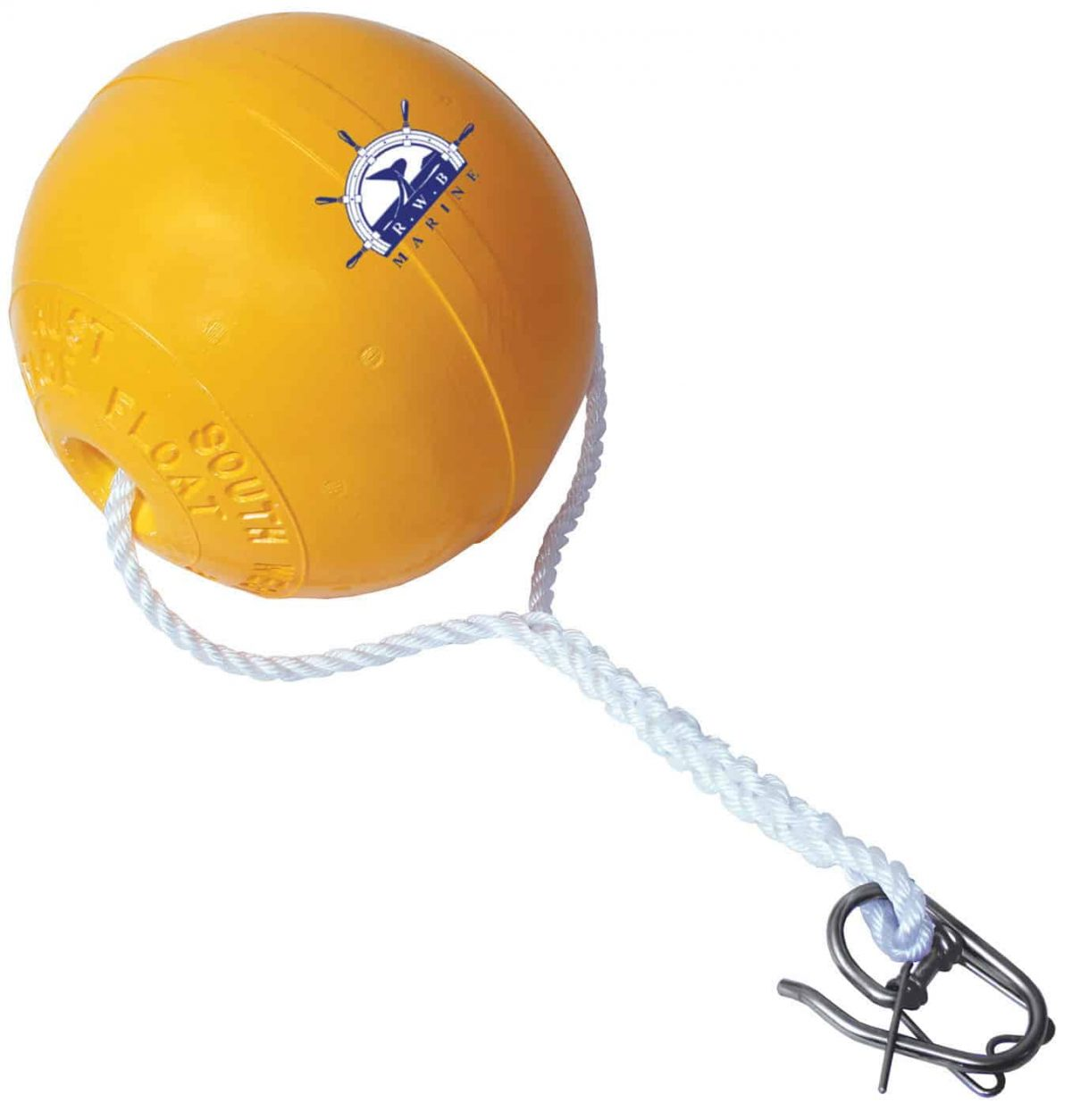 New Ezy Lift Anchor Lifting Device - Ball & Rope Small - 300mm Buoy Spliced Rope