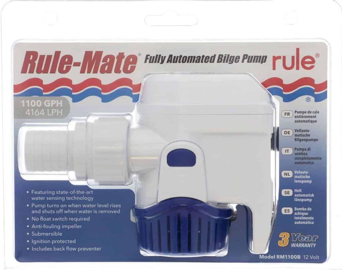 Rule Mate 1100 12 volt Bilge Pump