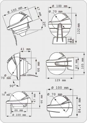 RWB 8010 Series Compass