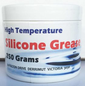 Chemlube High Temp Silicone Grease / Lubricant 250g Tub Food Grade O Rings Valve