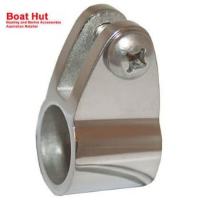 Boat Canopy Fitting TUBE KNUCKLE CLAMP Suits 22mm OD 316 Stainless Steel
