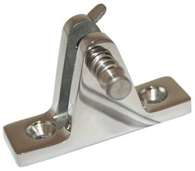 Boat Canopy Deck Mount Standard Type - quick release Stainless Steel 56X12X35mm