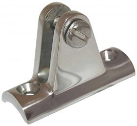 Boat Concave Rail Mount 20-25mm Standard Concave Base Stainless Steel 56X20X37mm