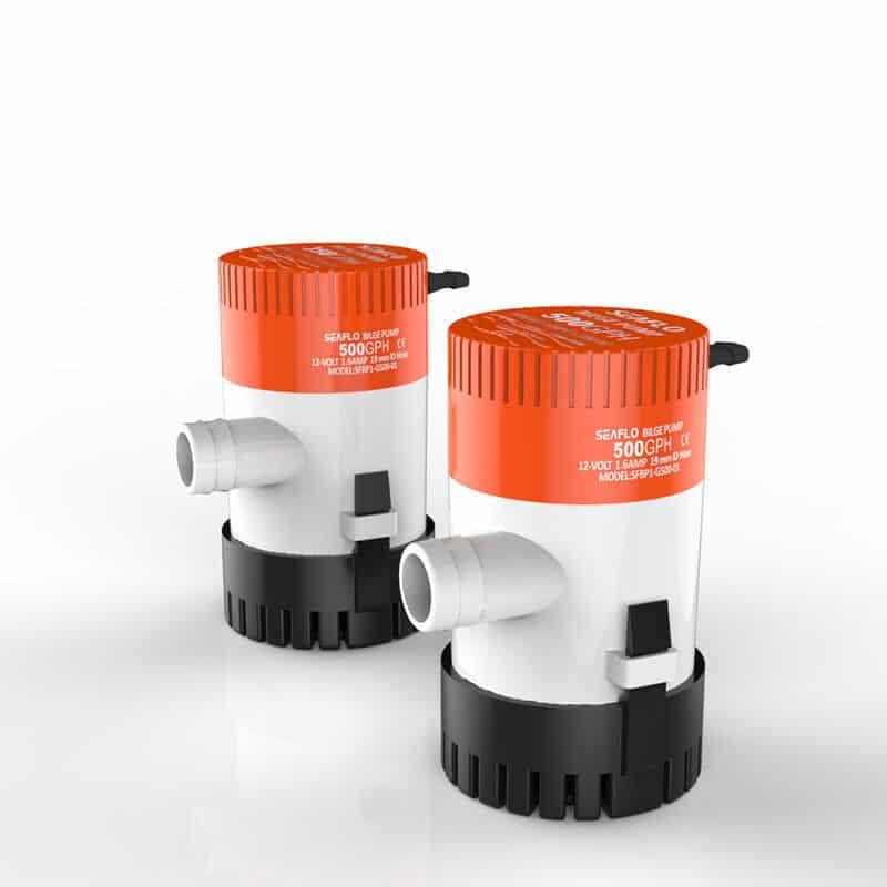 500 GPH Seaflo Bilge Pump 12 Volt SFBP1-G500-01