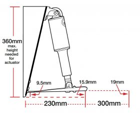 Lenco-Standard-Mount-Trim-Tab-Specifications